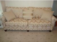 Luxury traditional sofa settee x2 brand new