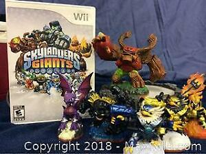 Wii Skylanders Giants Game And Accessories A