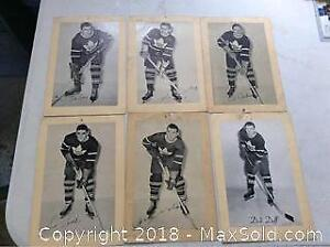 1950S Maple Leafs Bee Hive Photo Lot