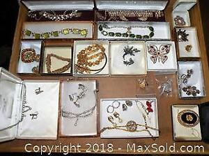 Vintage Jewelry lot Sherman Coro and more