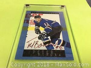 Peter BONDRA Certified Autographed Hockey Card