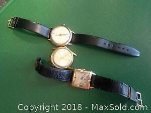Three WATCHES various brands. As found.
