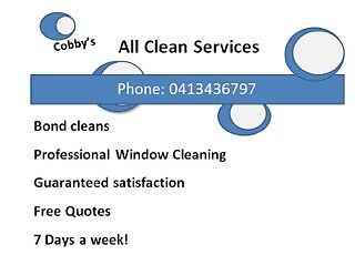 PROFESSIONAL BOND CLEANS Bokarina Maroochydore Area Preview