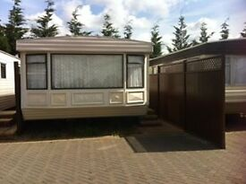 2 bed mobile home to rent available immediately