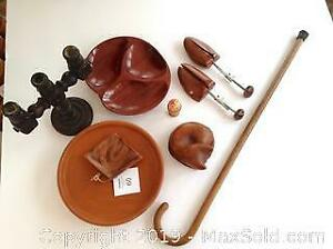 wooden items. A