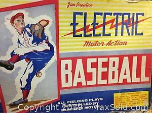 Antique Electric Baseball Game