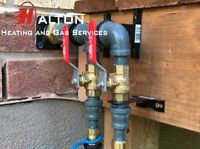 Natural Gas Line Installation - Licensed - Insured - Great Rates