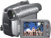 Sony DCR-HC24E Handycam MiniDV Camcorder [20x Optical Zoom] WITH LUXURY CARRY CASE