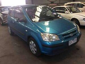 2002 Hyundai Getz GL Hatch wrecking for parts ....... Broadmeadows Hume Area Preview
