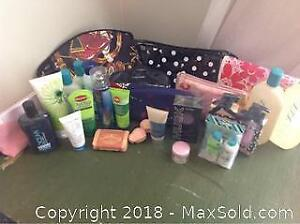 Skin Care Items And Bags