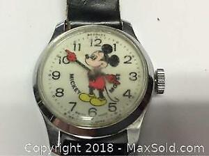 Old Mickey Mouse Watch