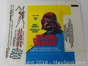 1977 Star Wars Wax Card Package