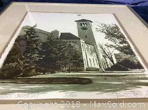 Queens University Signed Limited Ed Print 1/50 A