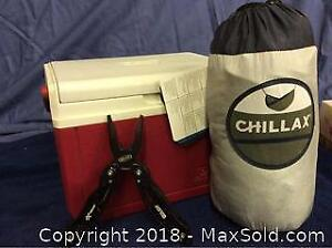 Mens Lot Cooler NEW Travel Hammock and Multi Tool A