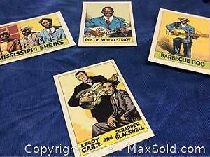 Blues Music Cards 1980 Yazoo Records Robert Crumb Art