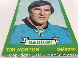 1973-74 OPC Tim Horton Hockey Card