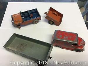 Old Dinky Meccano Toy Job Lot