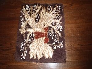Sheaf of Wheat Hooked Wall Hanging