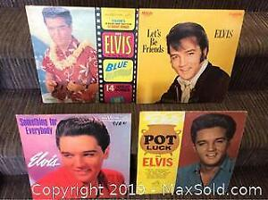 Elvis Presley Record Lp Lot of 4 Different