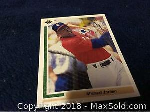 Michael Jordan Baseball Rookie Card Short Print