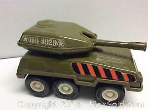 Old Buddy L Toy Metal Tank