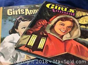 Collins Girls Annual Lot hard Cover