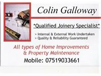 Home Improvements and Property Maintenance. Professional tradesman available