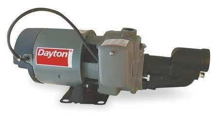 DAYTON 1D878 Pump,Jet,Shallow Well