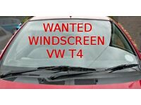 WANTED WINDSCREEN For VW T4 Transporter .