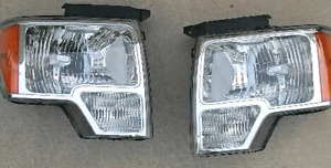 FORD F150 FACTORY HEADLIGHTS !
