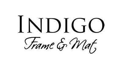 Indigo Frame and Mat