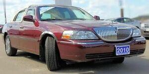 2010 Lincoln Town Car Congressional Town Sedan Sedan