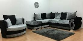 CHEAPEST PRICE LUXURY SOFA + Free FootStool 3+2 SEATER 1845