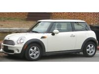 Mini white hatch one 1.6 one D 3d