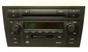 NEW 02 03 04 AUDI FACE REPLACEMENT A4 S4 for Radio 6 Disc Changer CD Player OEM