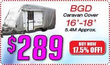 BGD-710  16-18ft CARAVAN COVER Soft Cotton Lining <> FREE POSTAGE Rye Mornington Peninsula Preview