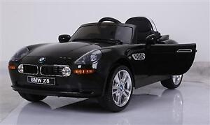 Licensed 12V BMW Z8 Deluxe Baby / Kid / Child Ride-On Car with Leather Seat, 2.4Ghz Special Parent Remote Controller,
