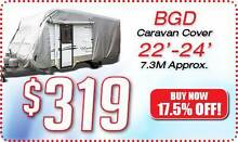 BGD-713  20-22ft CARAVAN COVER Soft Cotton Lining <> POSTAGE Rye Mornington Peninsula Preview