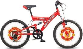 Manchester United Children's Kid Bicycle