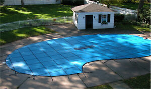 Swimming pool safety covers, winter covers and leaf nets. Cambridge Kitchener Area image 10