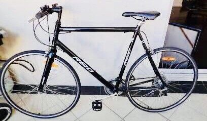 COMMUTER CITY BIKE LARGE SIZE PERFECT CONDITION + ACCESSORIES
