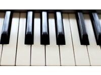 Lekcje gry na pianinie - polnocny Londyn