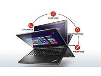 Lenovo Thinkpad Yoga Core i7-8GB-256GB SSD 12.5 inch Touchscreen IPS- Tablet /Ultrabook x1 carbon