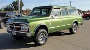 ATTENTION!!!WANTED TO BUY ! 1971 OR 72 GMC SUBURBAN 4X4 PARTS !!