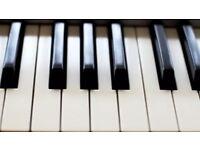 Lekcje gry na pianine, polnocny Londyn