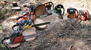 Chainsaw Sharpening / Small Engine Repairs