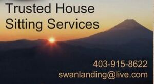Experienced  Trustworthy  House  Sitting  Services