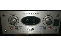 Avalon U5 valve pre-amp