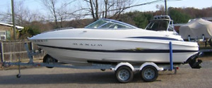 2004 Maxum 2100 SC 5.0L With Double Axel Trailer