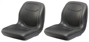 Two (2) New John Deere Gator Seats 4 x 2 & 6 x 4 Milsco USA Made + 1yr Warranty